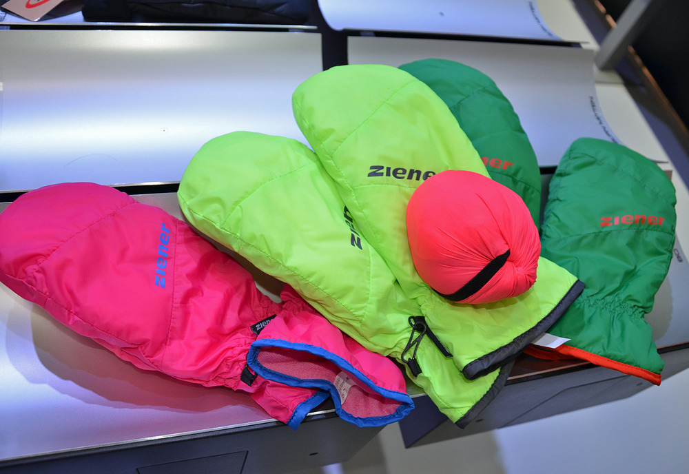 Ziener's foldable mini-mittens - ©Skiinfo