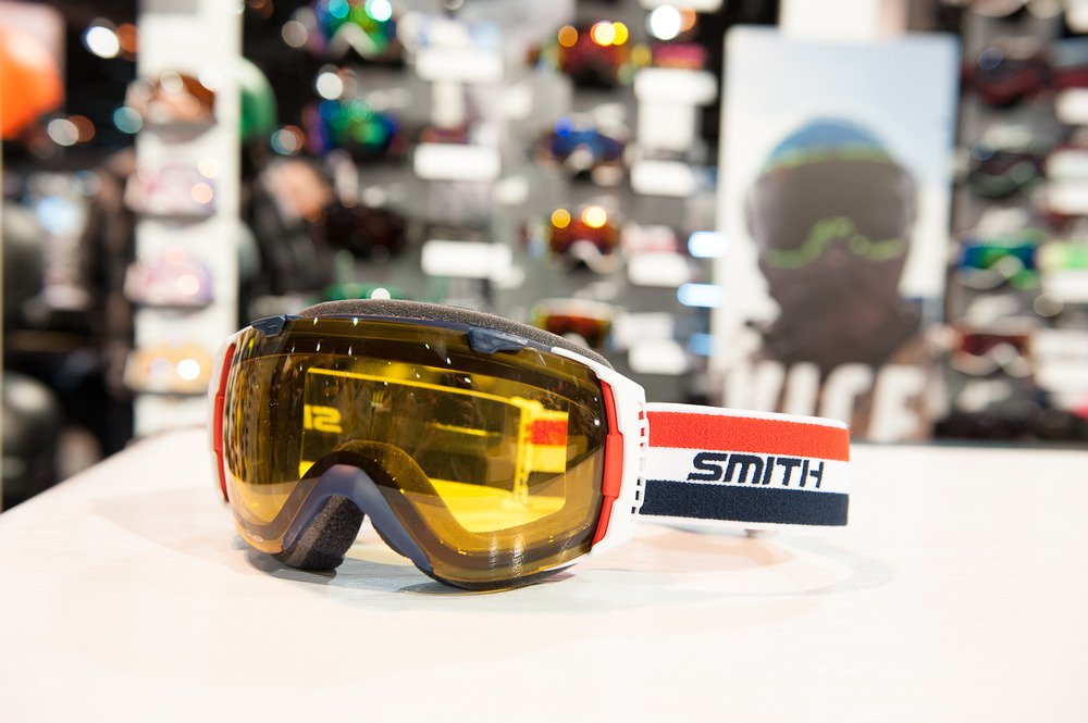 The Doctor Bob goggle from Smith Optics, an homage to founder Bob Smith who passed away in 2012. It's the first orange lens from Smith Optics in years.  - © Ashleigh Miller Photography