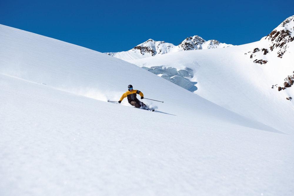 Freeride Hot Spots Austria - Pitztal Glacier - ©tirolgletscher.com