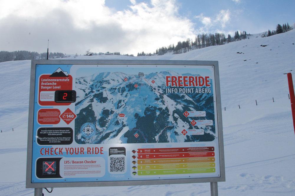 """Auch in der Ski Amadé Region Hochkönig wird die Freeride Challenge """"Open Faces"""" ausgetragen . - © Henning Heilmann"""