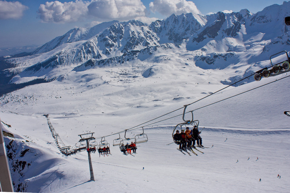 Ski Resort Kasprowy Wierch - ©Polskie Koleje Linowe