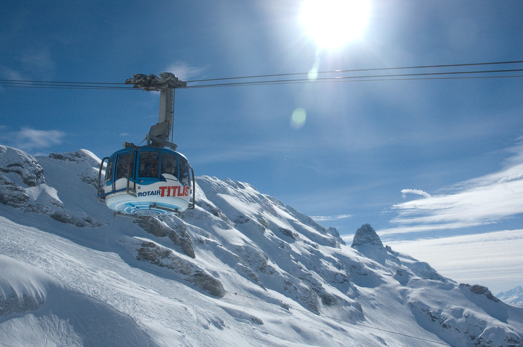 Rotair cable car in Engelberg-Titlis - © Björn Söderqvist