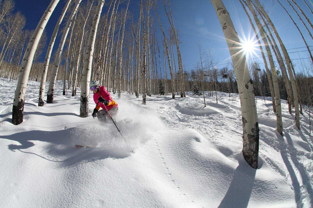 More powder at Powderhorn. - © Casey Day
