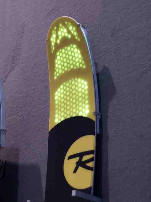 Air Tip technology at Rossignol stand at ISPO Munich 2013 - © Juliane Matthey