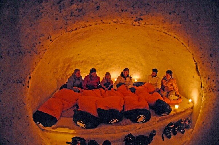 Ubytování v iglú, Engelberg - © Engelberg-Titlis Tourismus AG