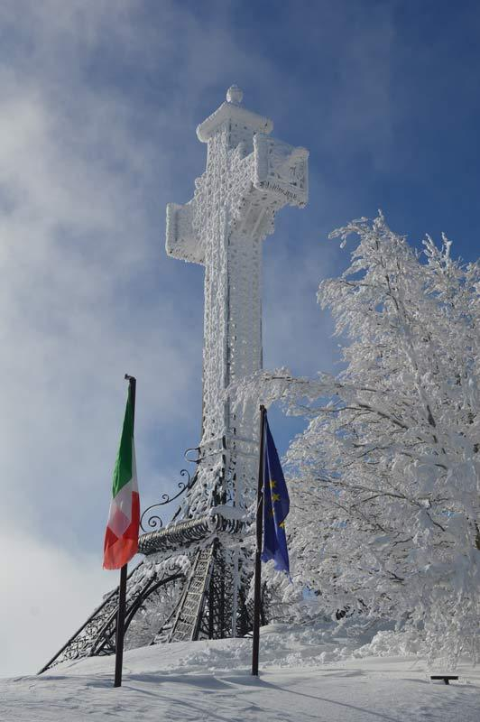 Monte Amiata, Abruzzo (ITA) - Fresh snow 11.02.13 - © Francesco Bisconti
