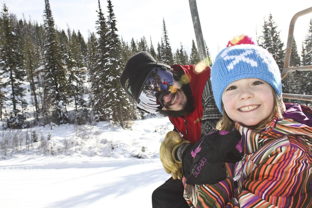 Kids ski lessons at Whitefish Mountain Resort. Photo courtesy of Whitefish Mountain Resort.
