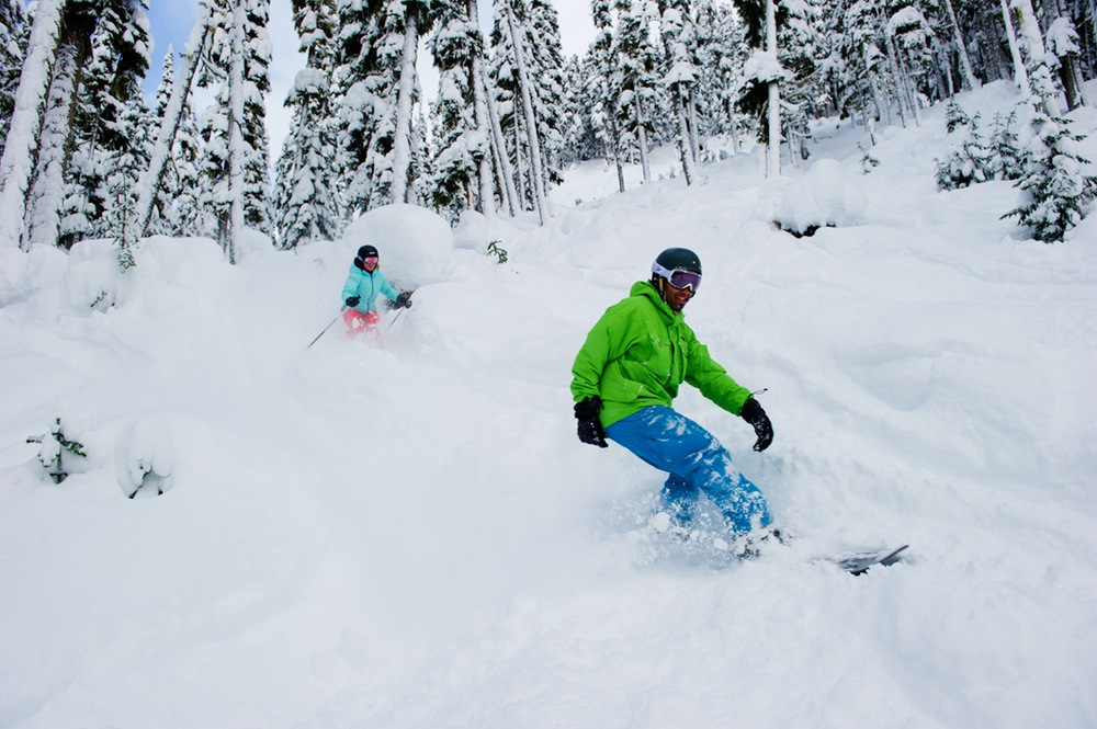 Whistler Blackcomb was chosen as the 2012 Best Overall Terrain in North America by our readers. - © Mike Crane/WhistlerTourism