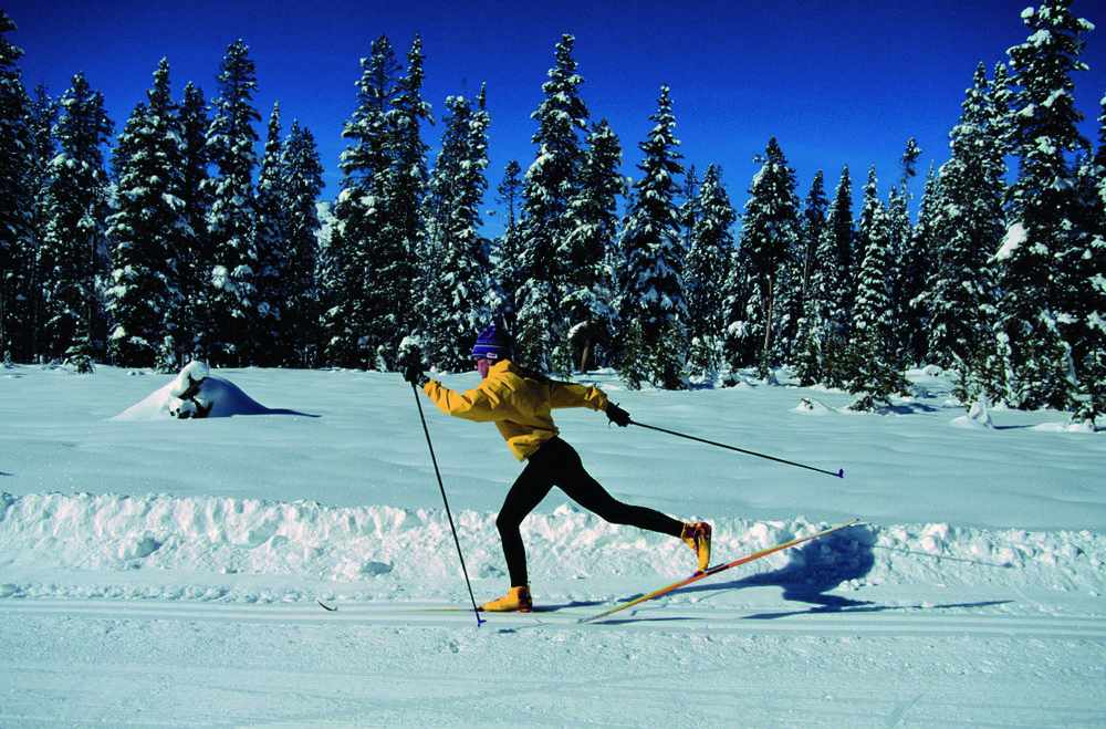 Cross-country skiing in Pregelato. Courtesy of Comune di Pragelato - © Comune di Pragelato