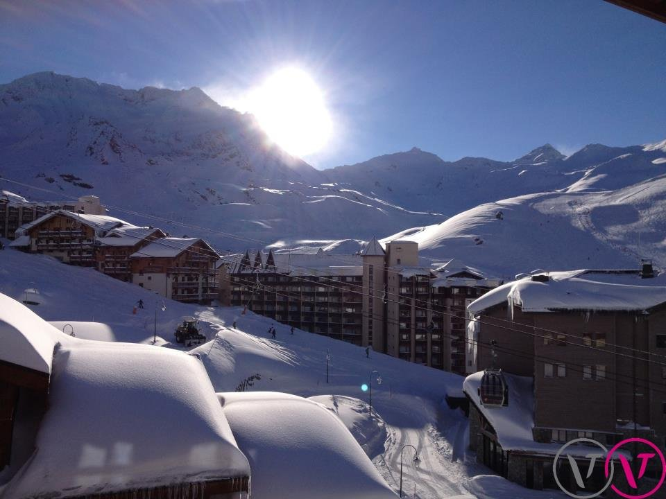 Jede Menge Schnee in Val Thorens am 8. Februar 2013 - © Val Thorens Tourism