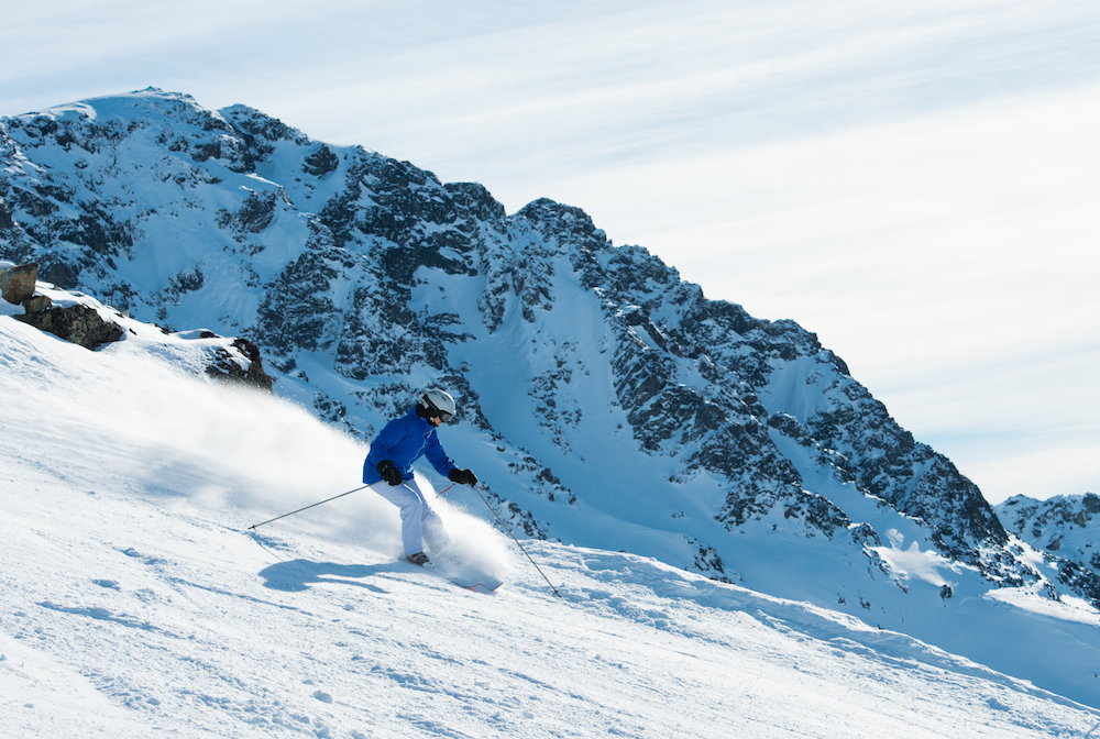 Seventh Heaven on Blackcomb Mountain at Whistler. - ©Mike Crane/Tourism Whistler