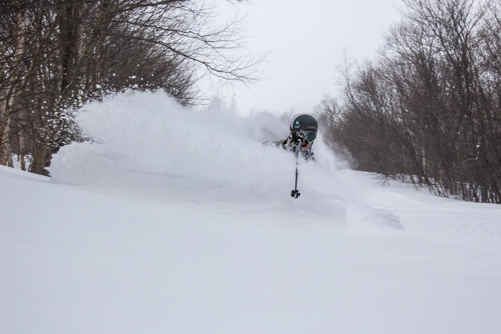 "The Jay Cloud certainly delivered, 23"" of new snow. - © Jay Peak Resort/Facebook"