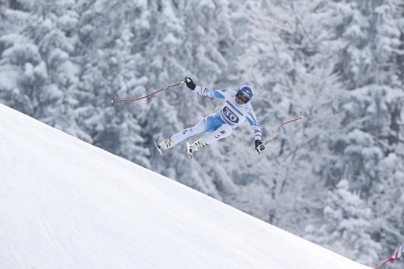 Georg Streitberger: Bester Österreicher auf der Kandahar-Abfahrt in Garmisch 2013 - © Alexis Boichard/AGENCE ZOOM
