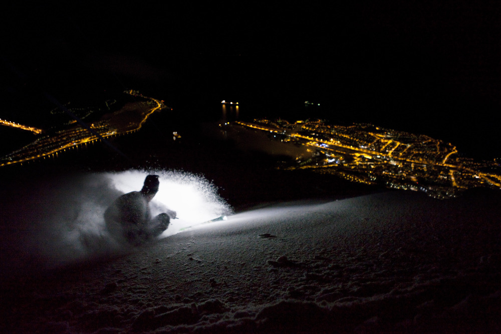 Narvik by night - © Jan-Arne Pettersen