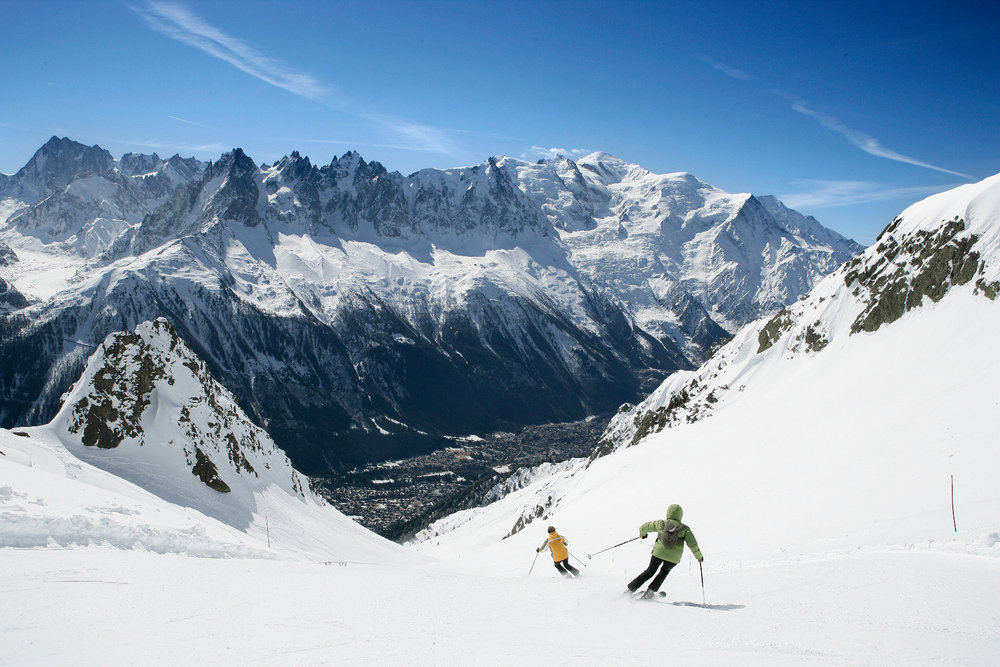 Limitless choice of runs in Chamonix, France - © M. Dalmasso