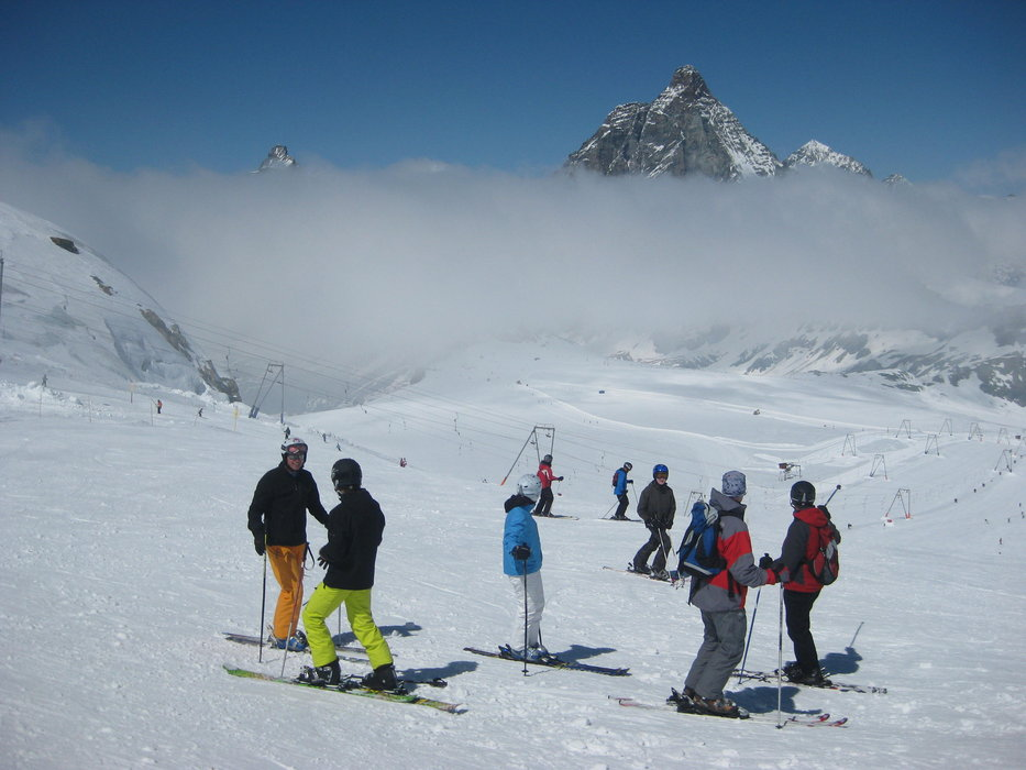 May skiing in Zermatt - © Patrick Thorne