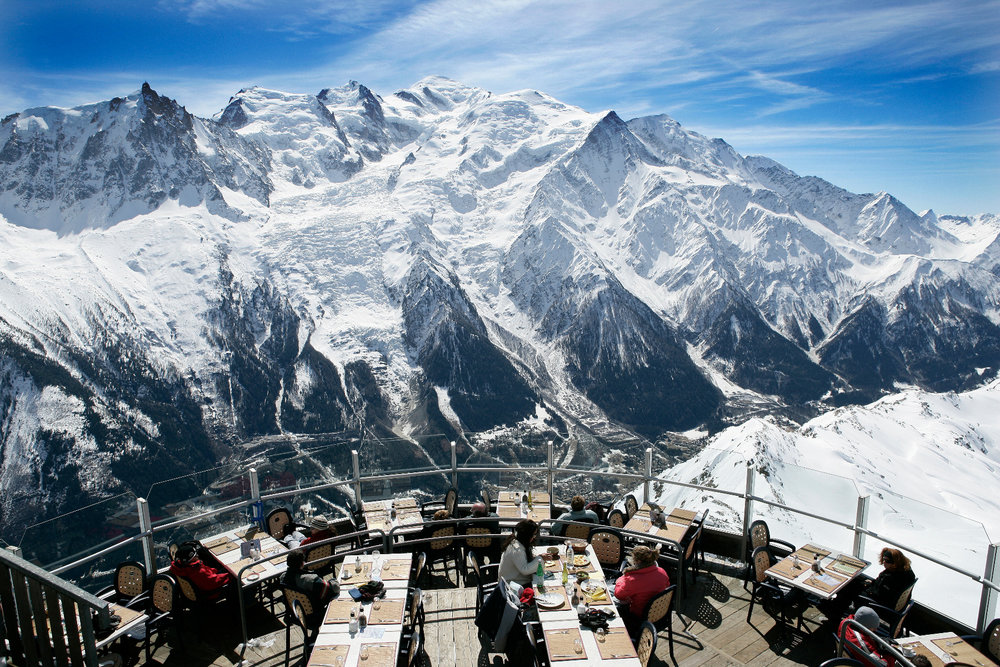 Panoramic view on Mont-Blanc from the Brevent - © M. Dalmasso