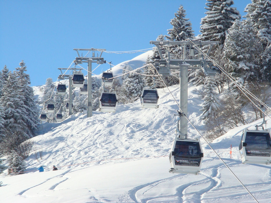 Plattieres cable car at Meribel - © S3V