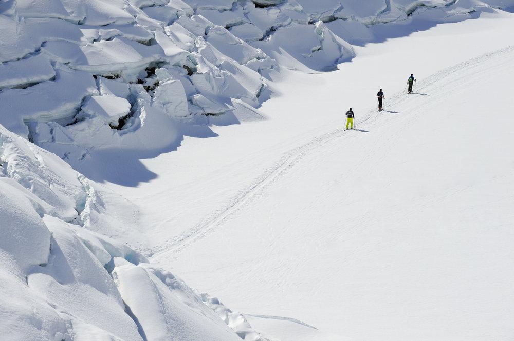 Seven meters of snow each year at Arlberg. - ©TVB St. Anton am Arlberg/Josef Mallaun