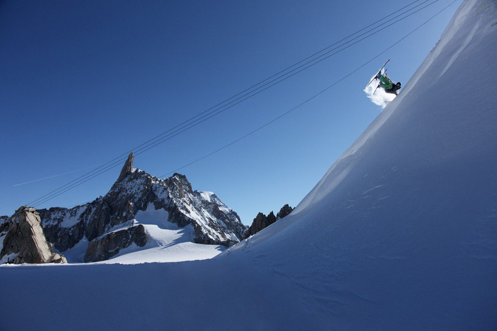 Shot of Courmayeur from last year's Click on the Mountain event - © Daniel T Schurchenthaler