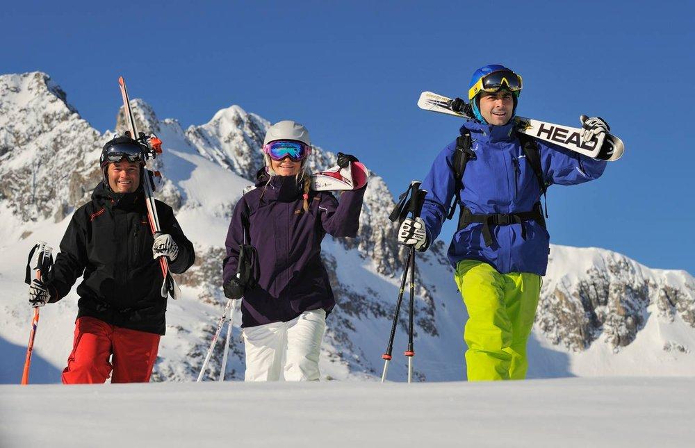 Skiing in Lech Zuers / Arlberg - © Lech Zürs