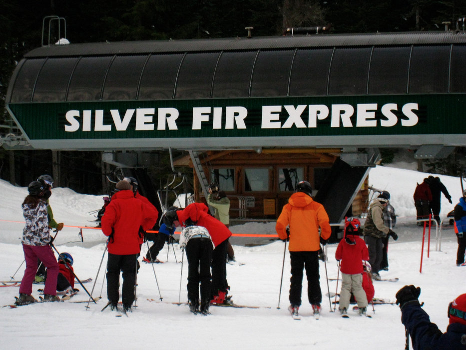Silver Fir Chair at Summit Central at Snoqualmie. Photo by Becky Lomax. - © Becky Lomax