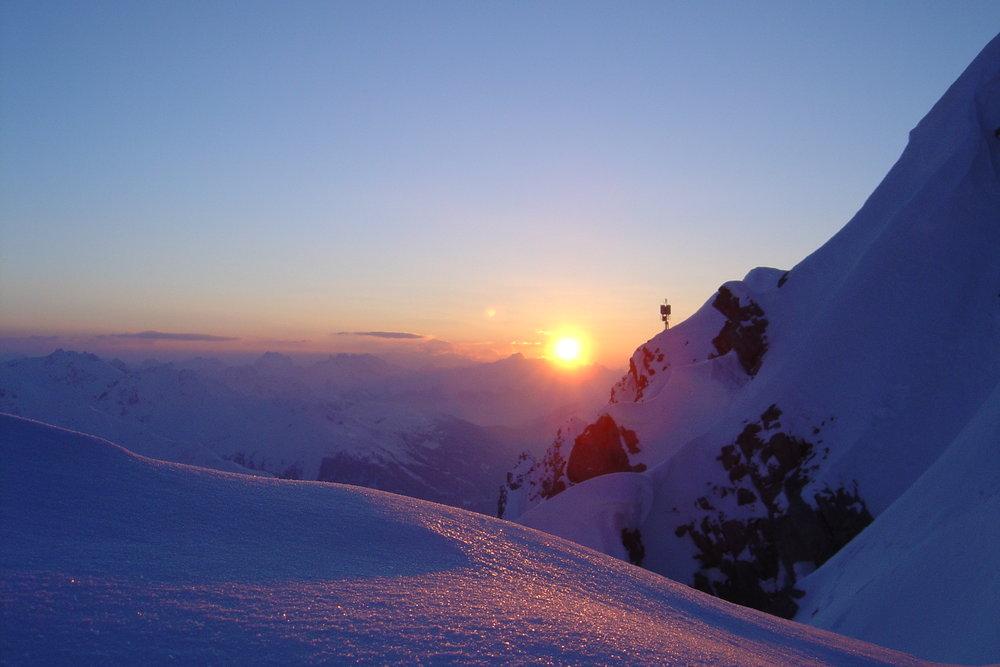 Sunset at Arlberg. - ©TVB St. Anton am Arlberg/Fotograf Walter Inwinkel