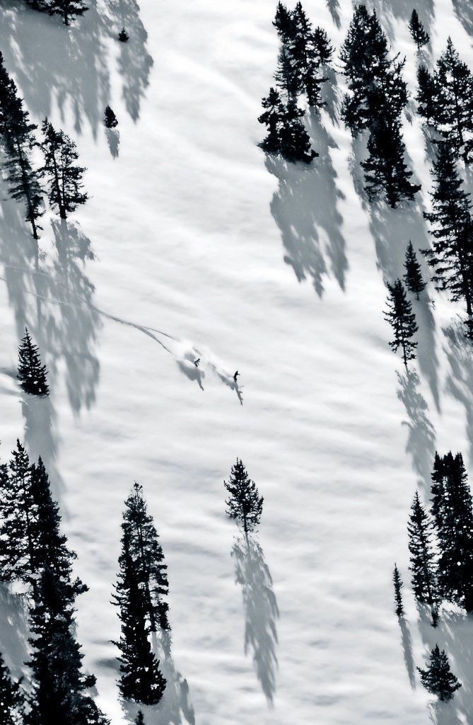 Vail's legendary back bowls. - ©Jack Affleck