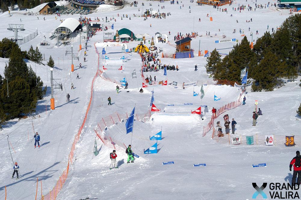 Snowpark de Grandvalira - © Grandvalira Tourism