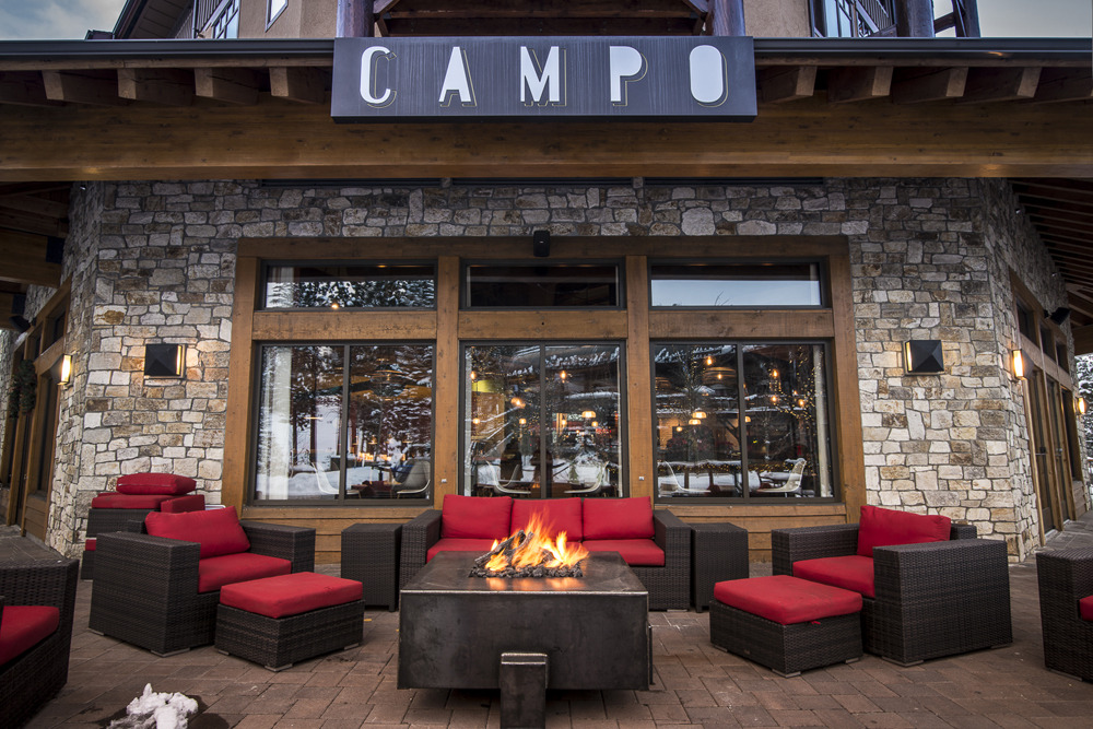 Campo Mammoth is a rustic Italian eatery in the heart of Mammoth. - © Mammoth Mountain