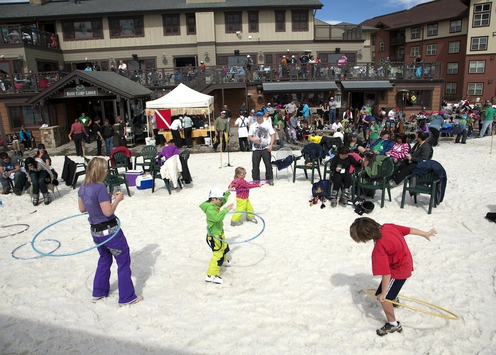 Celebrate the end of the season at Ski Granby Ranch. - © Photo courtesy Ski Granby Ranch.
