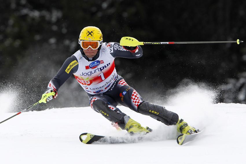 Dritter Platz für Ivica Kostelic beim letzten Slalom - © Alexis Boichard/AGENCE ZOOM