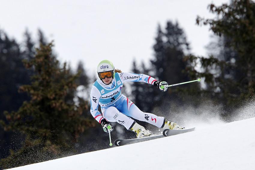Anna Fenninger beschloss das letzte Saisonrennen als Fünfte - © Alexis Boichard/AGENCE ZOOM