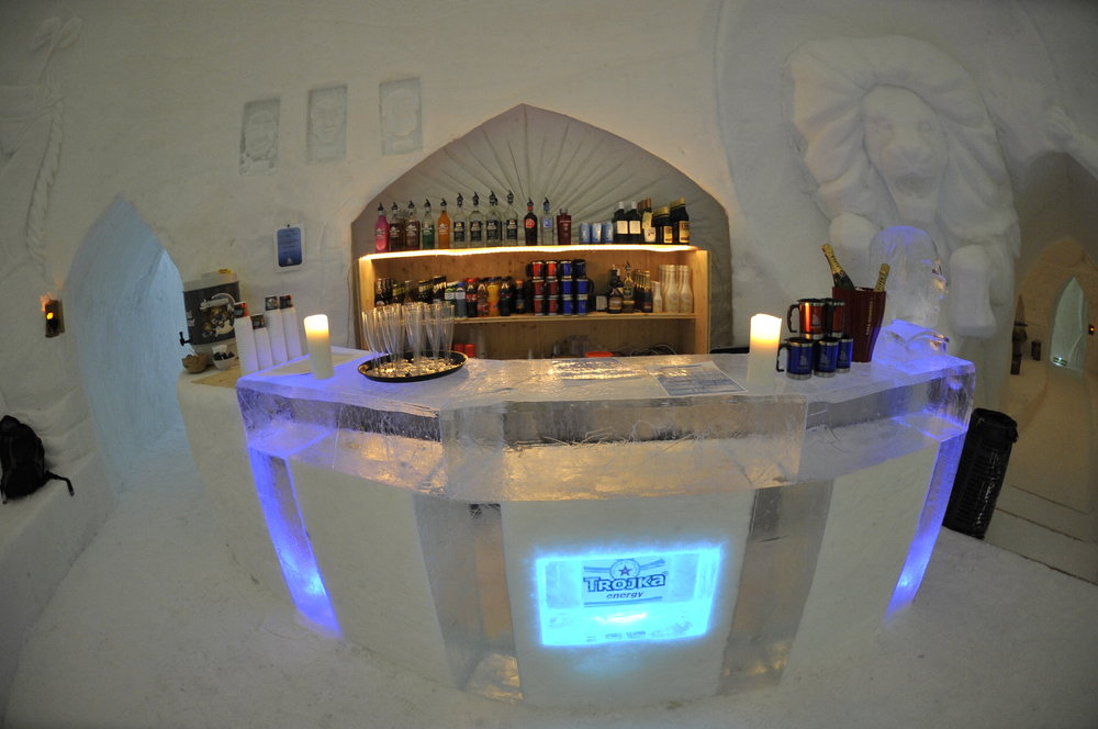 Bar at Iglu Dorf - ©Iglu Dorf GMBH