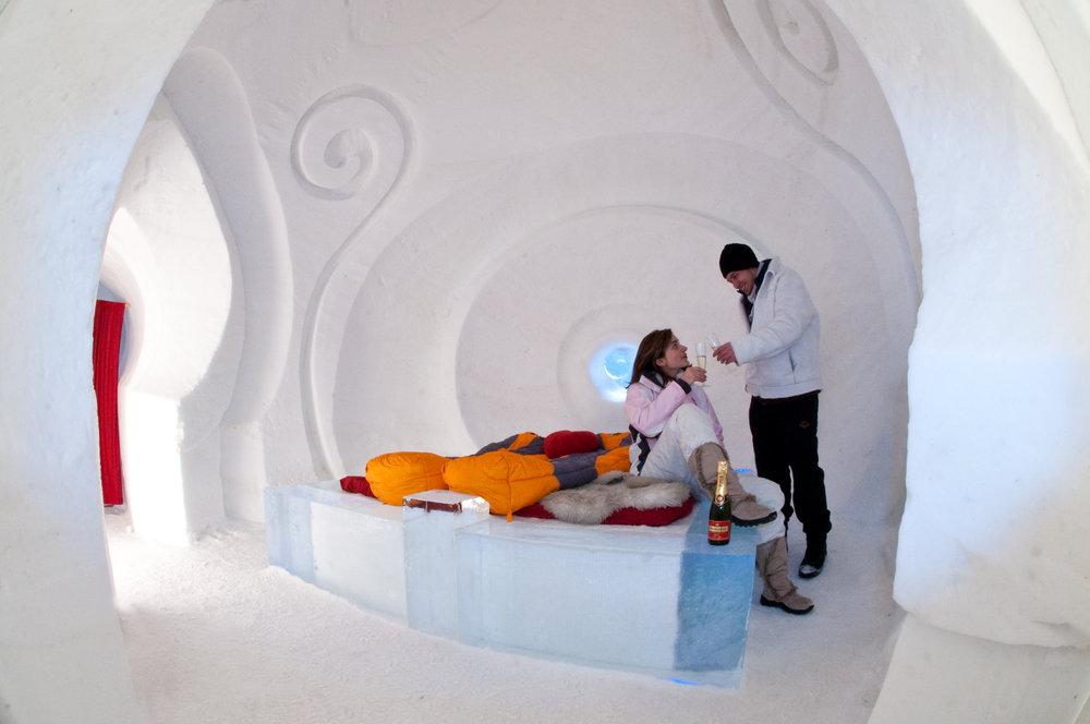 Bedroom at Iglu Dorf - © Iglu Dorf GMBH