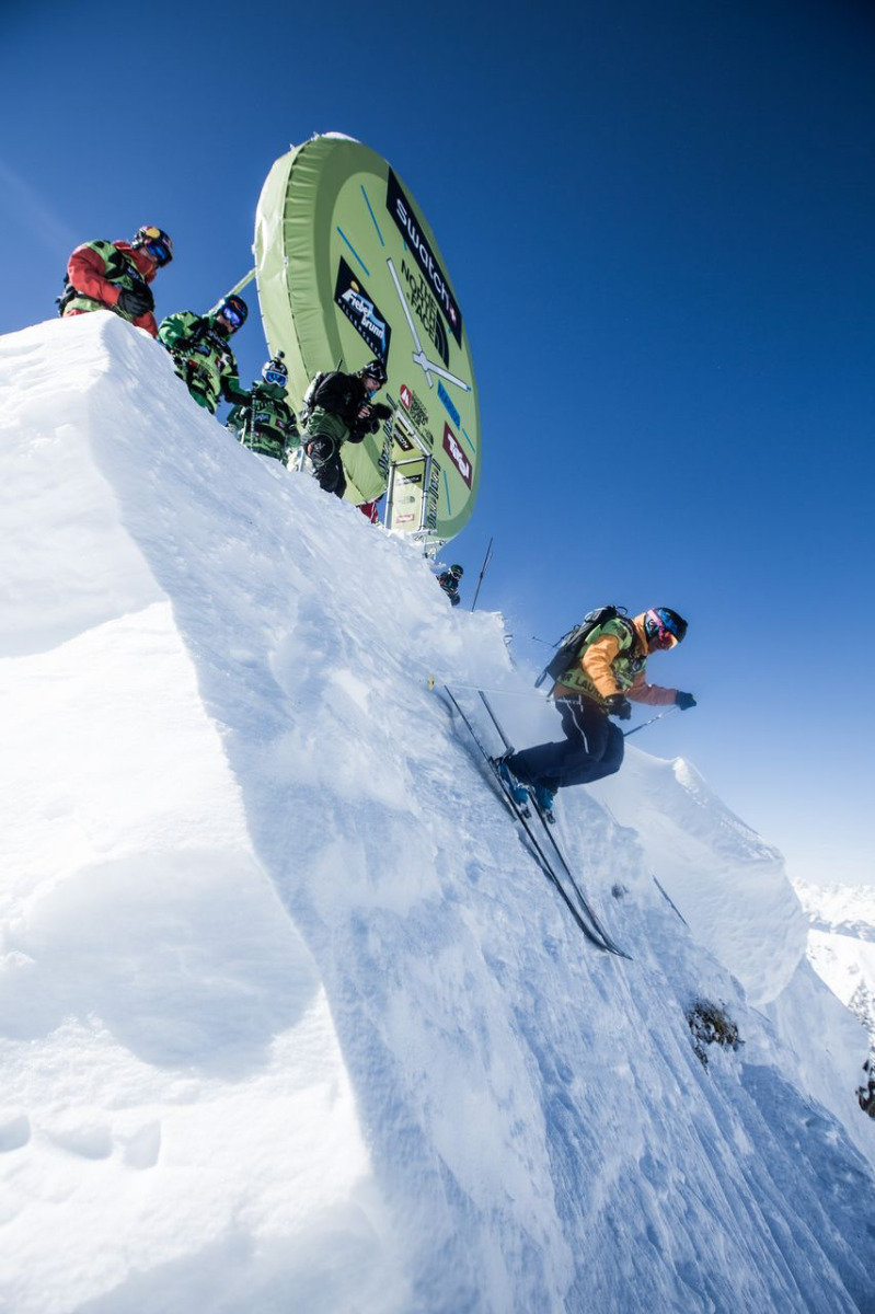 Freeride World Tour 2013 - Fieberbrunn (AUT) - ©freerideworldtour.com / IBernard