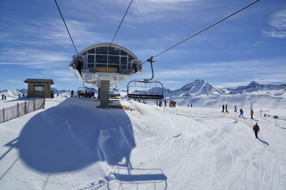 Grandvalira chairlift, Andorra - ©Grandvalira Tourism