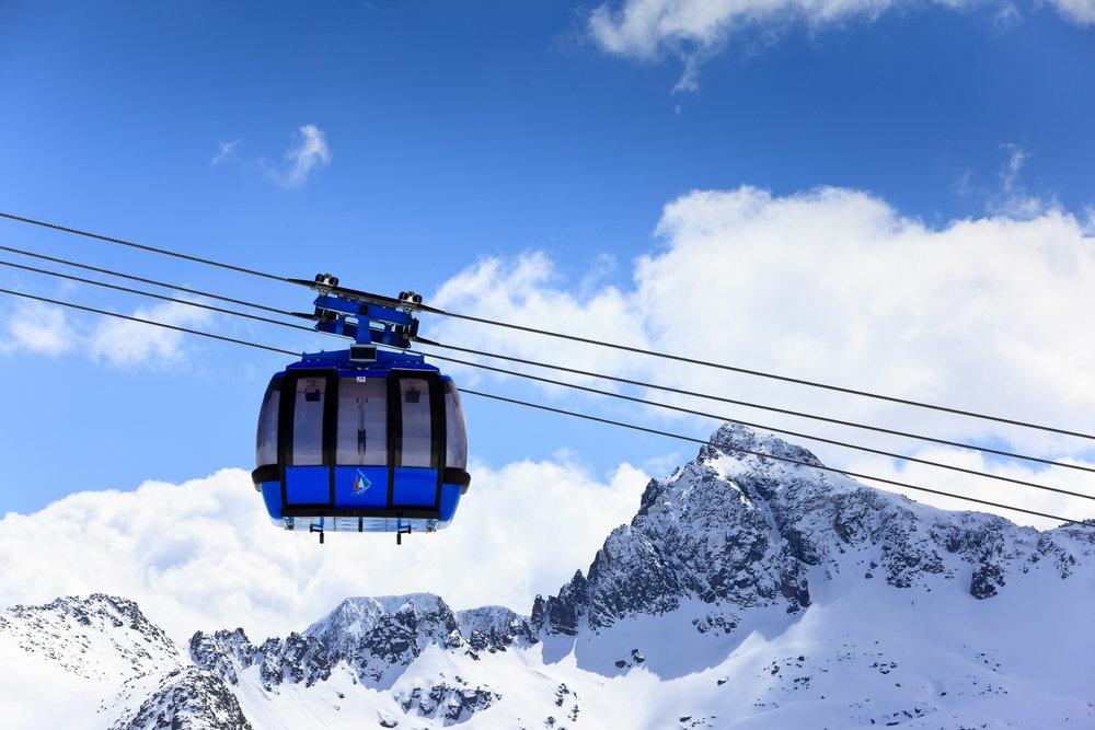 Grandvalira gondola, Andorra