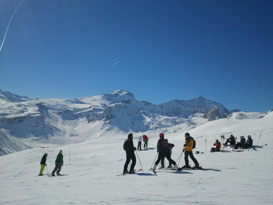 Great conditions in Tignes, March 2, 2013 - © Tignes