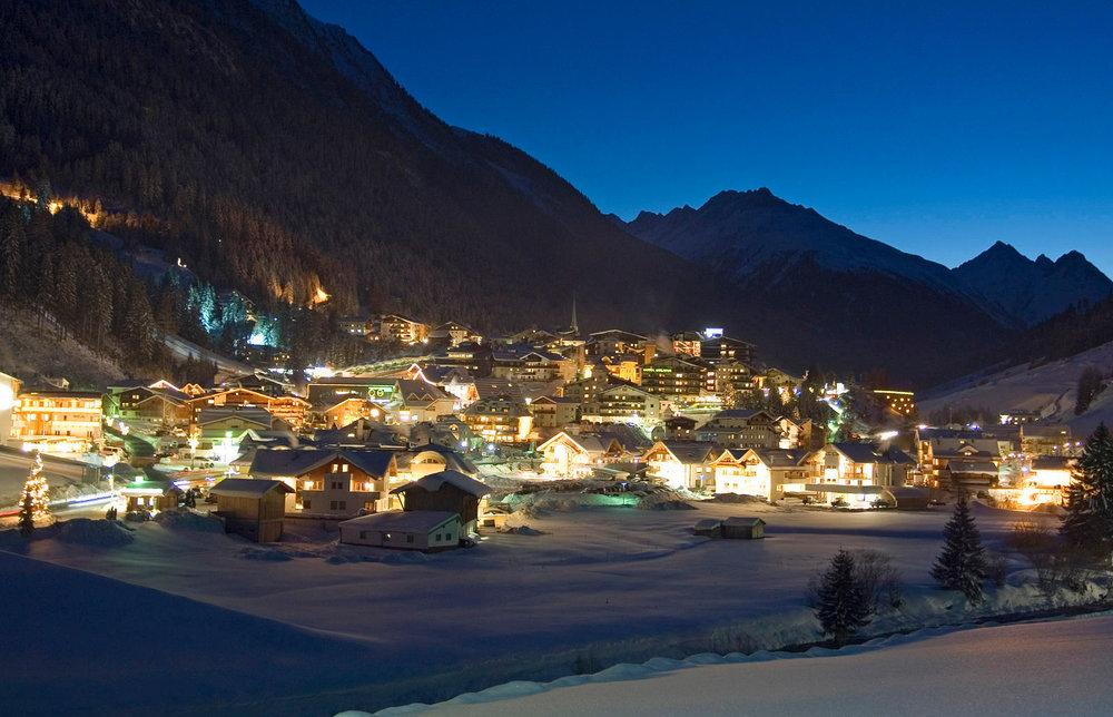 Ambiance nocturne sur Ischgl - © Eric Beallet