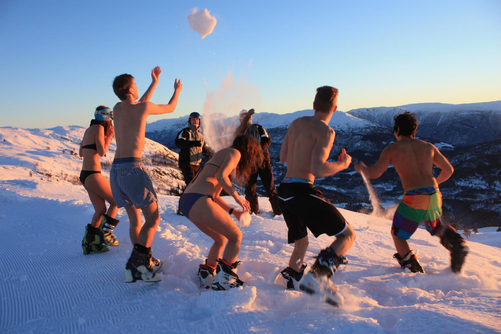 Sogn ski resort - Bikini ski