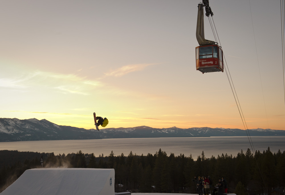 Lake Tahoe in the spring time. - © Courtesy of Heavenly Mountain Resort