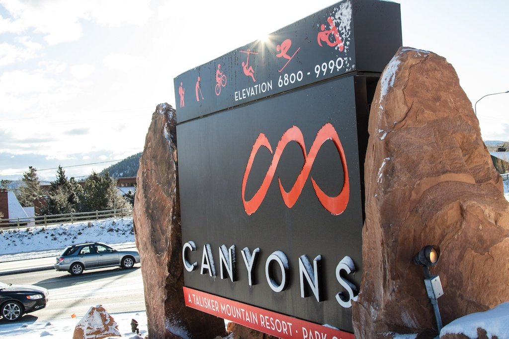 Canyons has 4,000 acres of skiable terrain and 182 trails. - ©Liam Doran