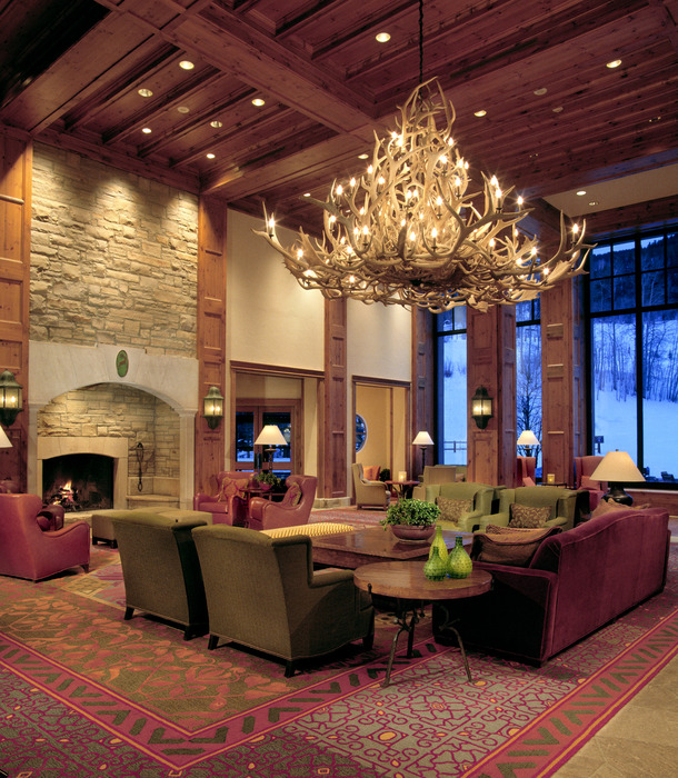 The lobby at the Park Hyatt Beaver Creek Resort and Spa. - © Park Hyatt Beaver Creek Resort and Spa