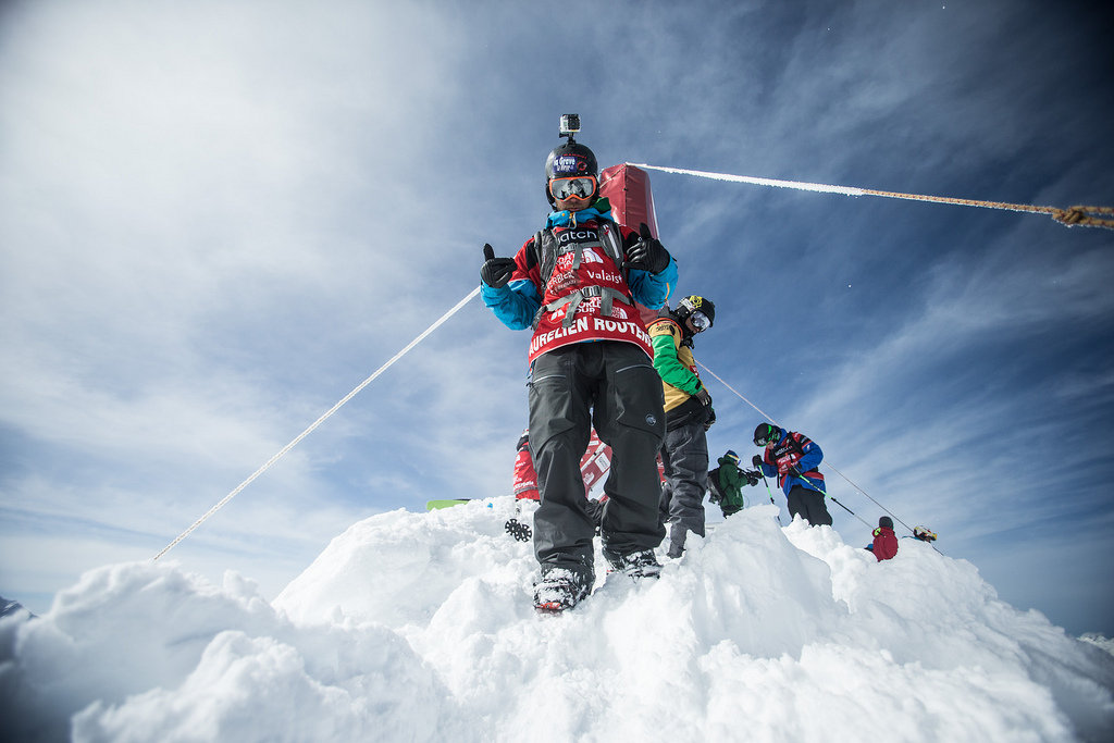 Freeride World Tour, Verbier 2013 - © D. Daher