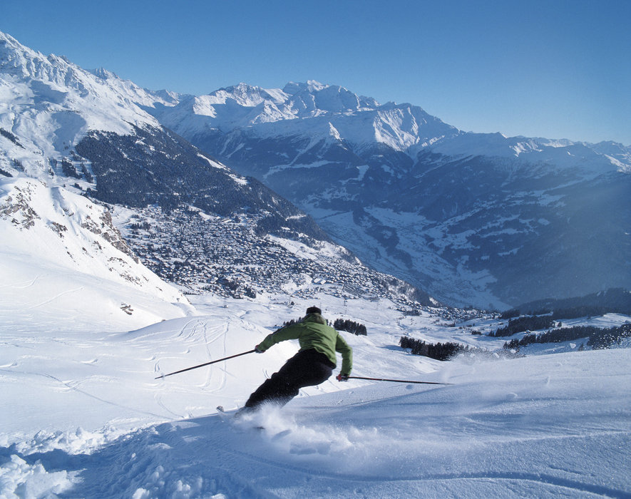 Freeski a Verbier, nel Vallese