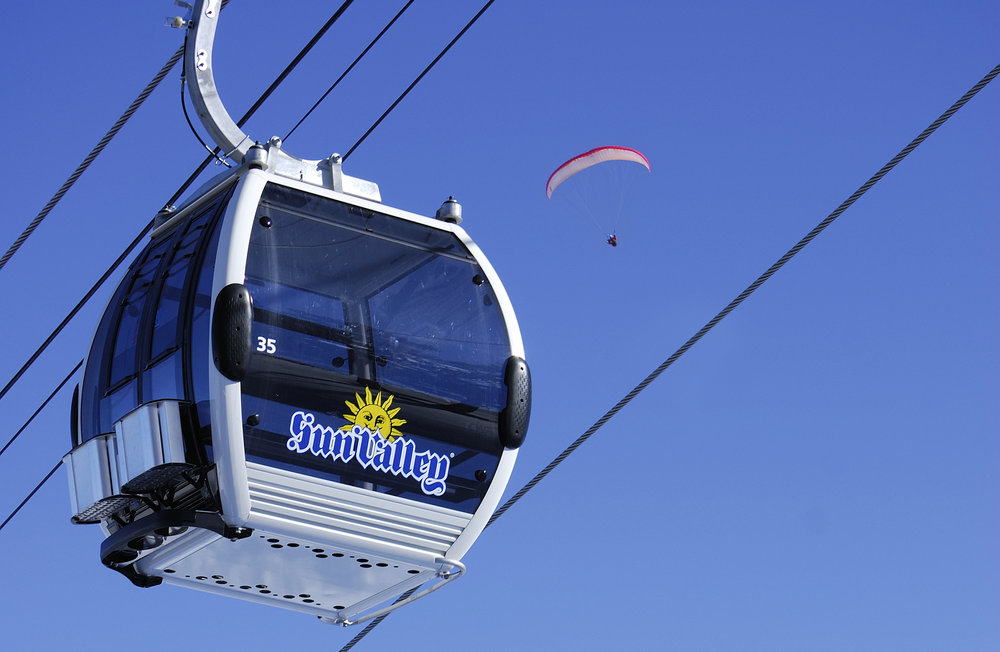 Gondola at Sun Valley Resort. - © Sun Valley Resort