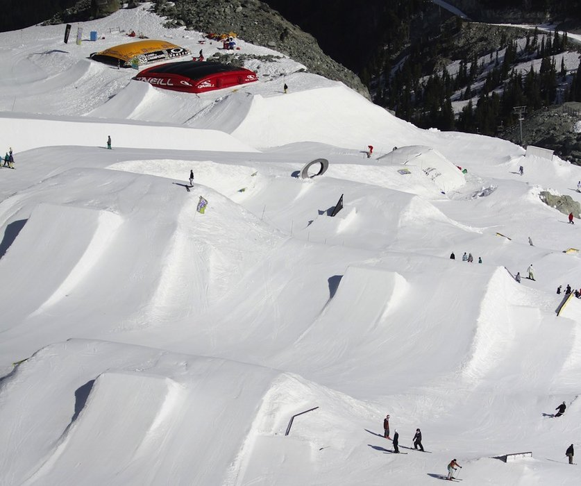 Funpark in Whistler Blackcomb - © Whistler Blackcomb