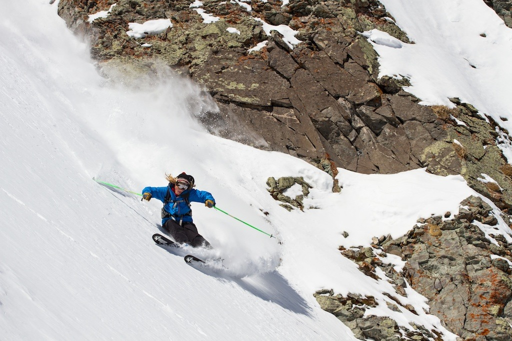 Telluride has ample terrain to keep 19 year old local Greg Hope occupied when he's not attending college. - © Liam Doran