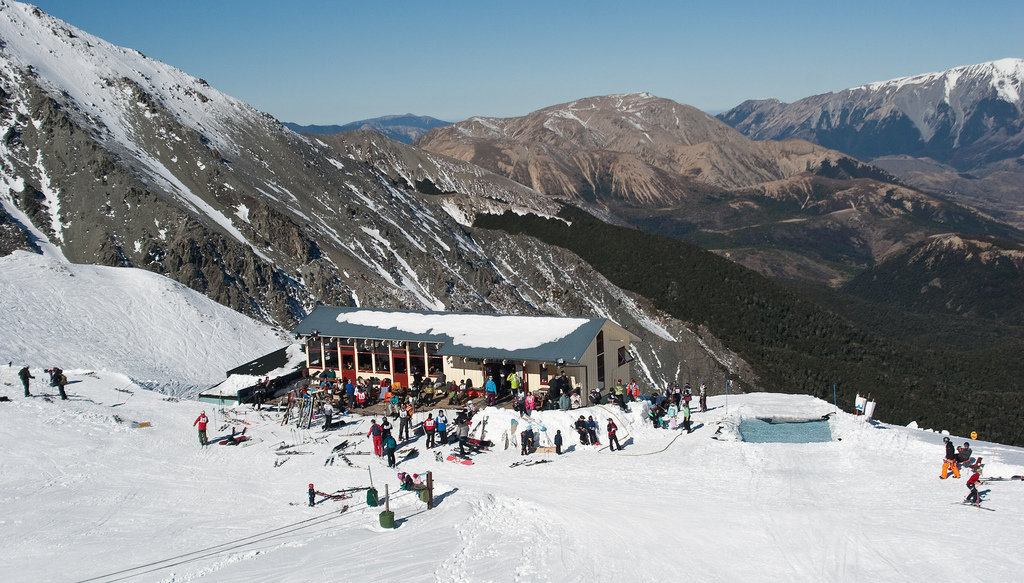 Craigieburn ski area, NZ - © Flickr/electro8